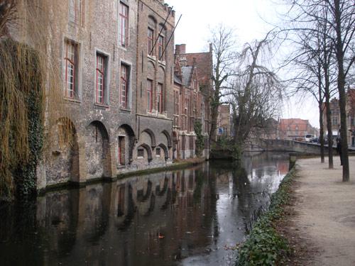 Брюгге - Дяйвер, священная вода - бывшее кельтское капище