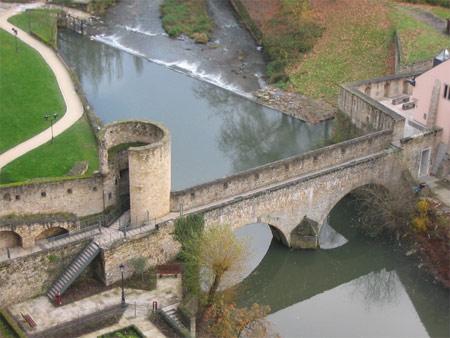 средневековые стены Брюсселя