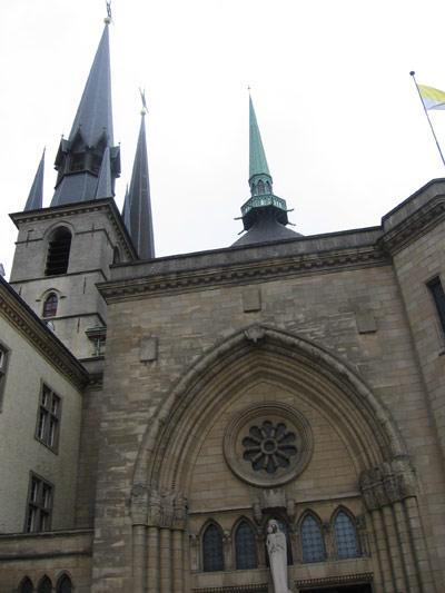 эксурсии по Люксембургу - Кафедральный собор