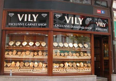 Магазины бриллиантов в Антверпене