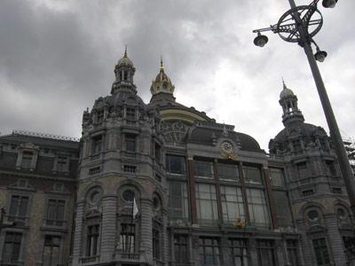 Экскурсии - центральный вокзал Антверпена